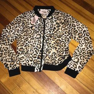Animal print Jacket , Forever 21 size Large, NEW